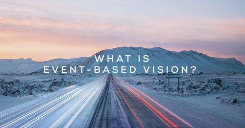 What is event based vision?